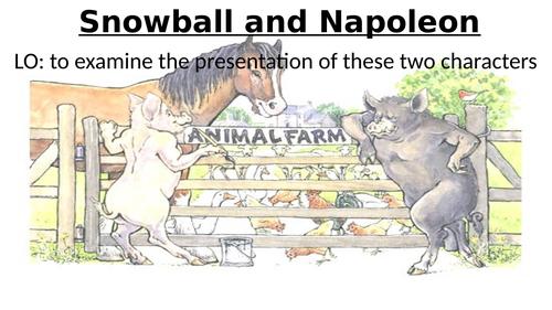 Animal Farm chapters 1-3