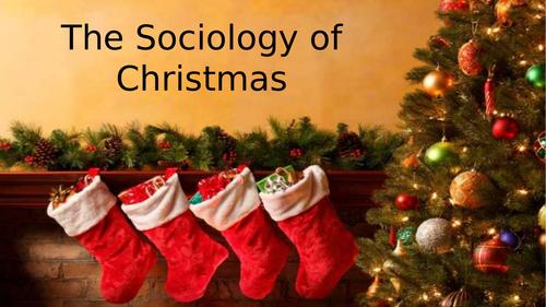 The Sociology of Christmas
