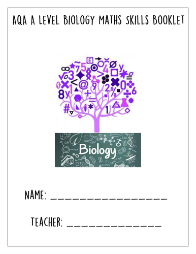 A LEVEL BIOLOGY - MATHS SKILLS EXAM RESOURCE BOOKLET/SOW