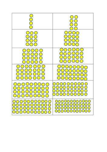 4 times tables arrays