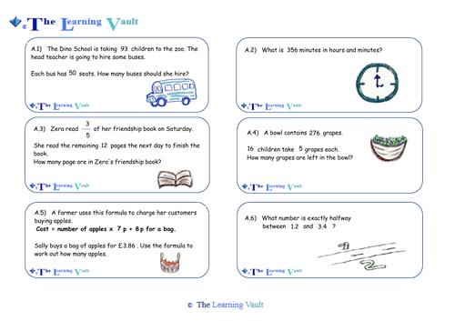 Mathematics Reasoning Questions - KS2