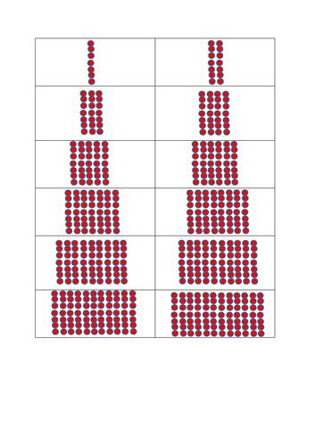 7 times tables arrays