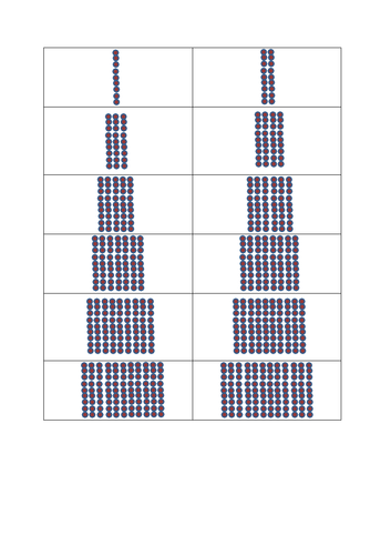 9 times tables arrays