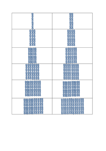 10 times tables arrays