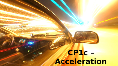 CP1c - Acceleration