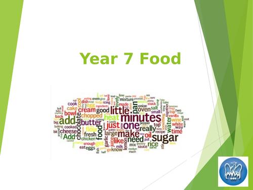 Year 7 Main PP Food