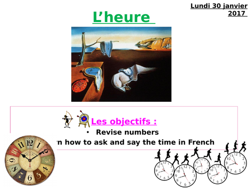 L'heure / time