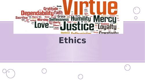 AQA AS Aristotle ethics - the whole topic