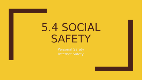 Social Safety OCR Child development