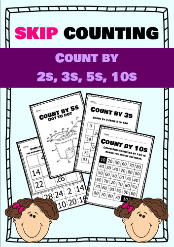 Skip Counting - count by 2s, 3s, 5s, 10s
