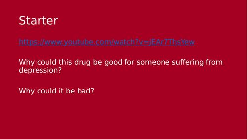 Antidepressants lesson