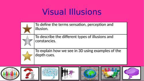 Illusions in Perception AQA GCSE NEW SPEC