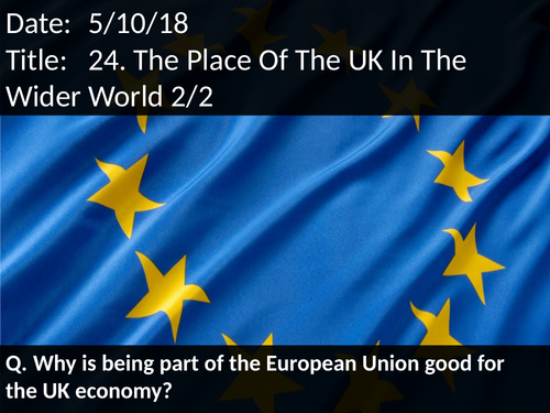 24. The Place Of The UK In The Wider World 2/2
