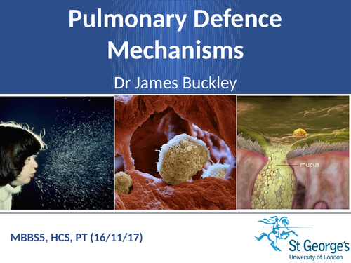 Pulmonary defence mechanism ( with images and exam style questions)