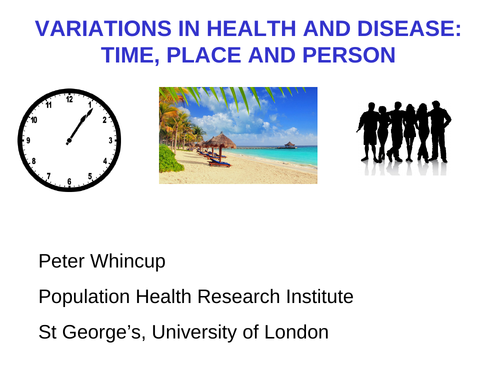Variations health disease
