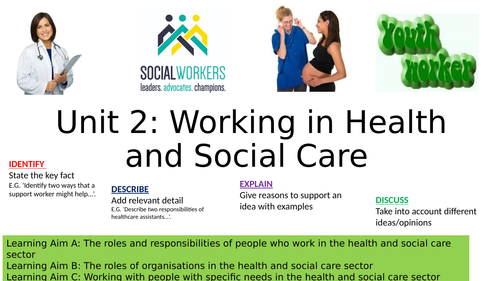 Working in Health and Social Care