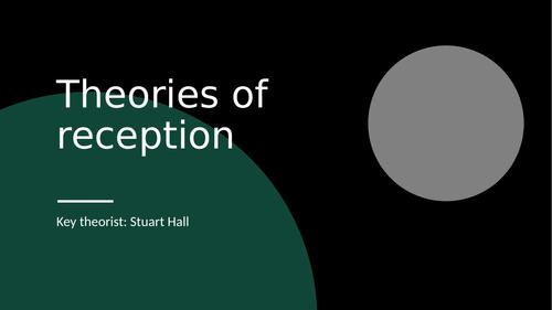 Stuart Hall Reception Audience Theory Media