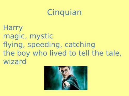 Harry Potter Poetry