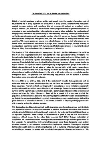 Essay On Science And Religion  High School English Essay Topics also Persuasive Essay Thesis Top Mark Alevel Biology Essay  The Importance Of Dna In Science And  Technology Essay For High School Students