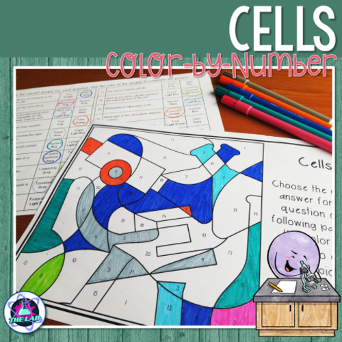 Cells Colour-by-Number