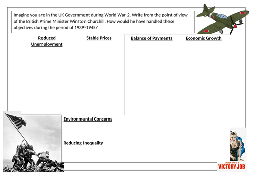 Economic Objectives Activity - WW2
