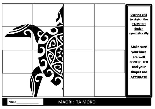 Exploring Maori Ta Moko using Symmetry