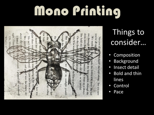 An introduction to mono-printing