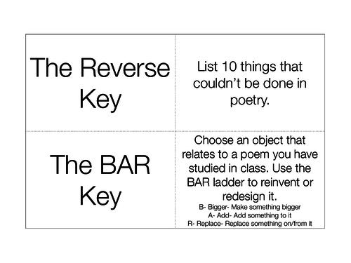 Thinker Keys - Poetry