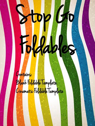 Stop Go Animation Background (foldable)