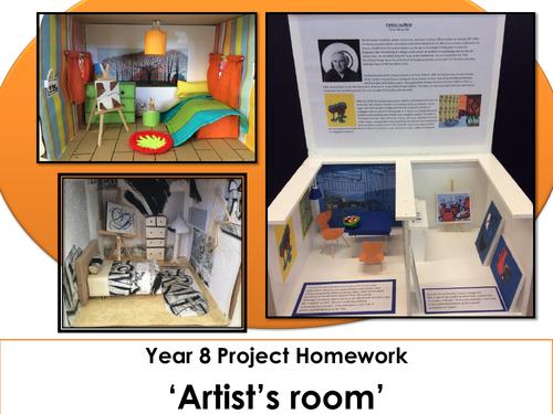 Design an Artist Room - Homework Project