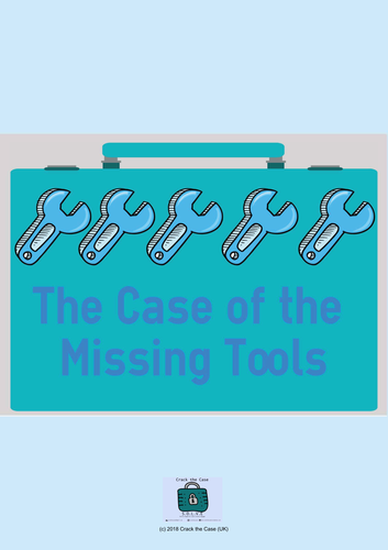 The Mystery of the Missing Tools (Escape/Breakoutbox Game including blanks)
