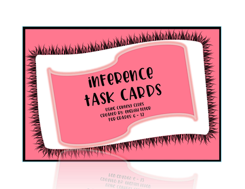 INFERENCE TASK CARDS # 8