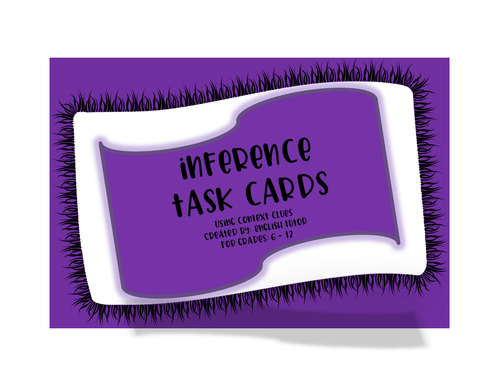 INFERENCE TASK CARDS # 10