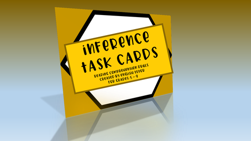 READING TASK CARDS - 10 MINUTE DRILLS