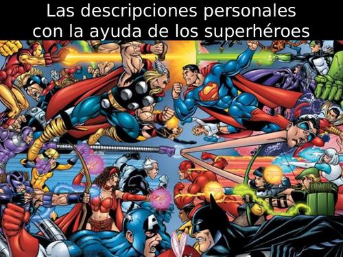 Mira Express Module 3-Las descripciones personales con la ayuda de los superhéroes