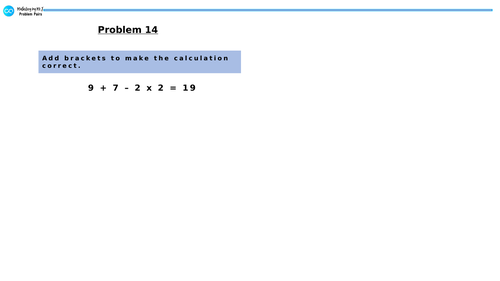 White Rose Year 6 Block 2 Four Operations - Order of Operations