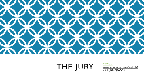 Social infulence application for the Jury