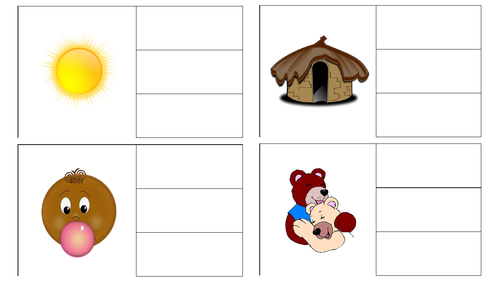 CVC Word Recognition and Reading Game