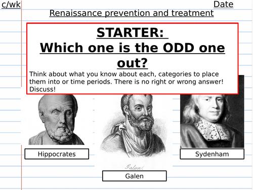 Renaissance medicine preventions and treatments