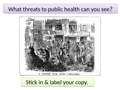 Public Health in the Industrial period 1848 Public Health Act Chadwick Edexcel