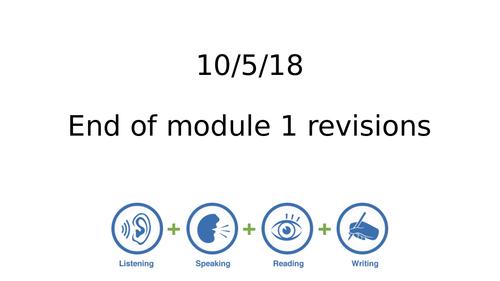 Studio AQA GCSE French Module 5 Revisions