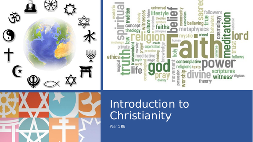 RE- Christianity: Introduction ppt KS1-3