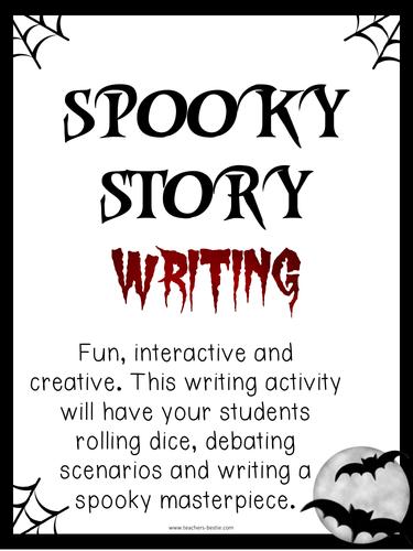 Spooky Story Writing Activity