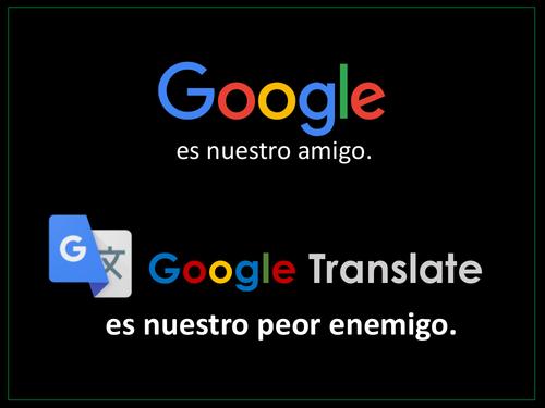 Google Translate  poster