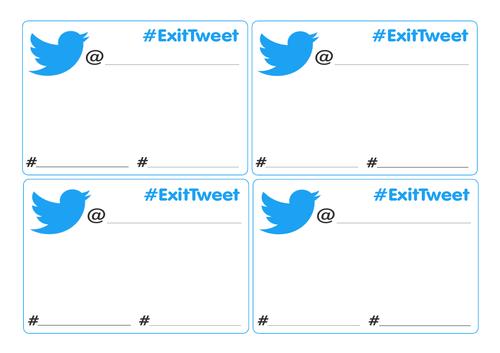 Exit Tweet Plenary