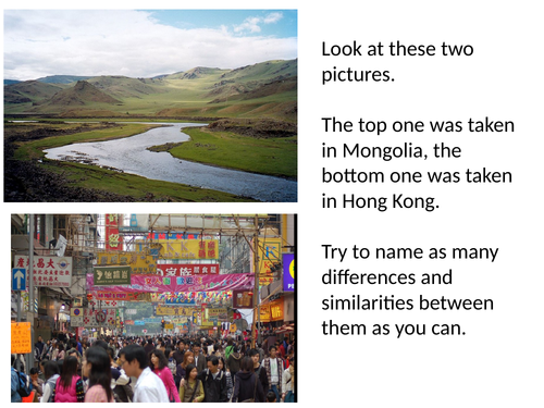*Full Lesson* Population Density and Distribution (KS3 Geography)