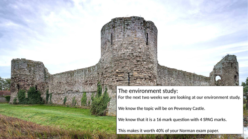 Pevensey Castle Lesson Pack