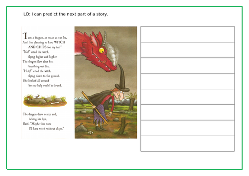 Room on the Broom by Julia Donaldson worksheets