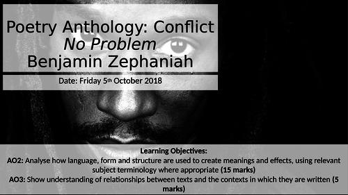No Problem by Benjamin Zepheniah