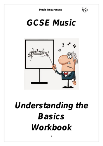 GCSE Theory Booklet - Understanding the Basics